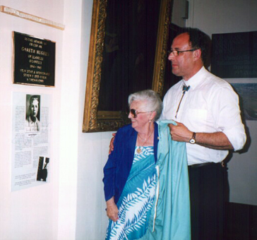 Unveiling of the Memorial Plaque